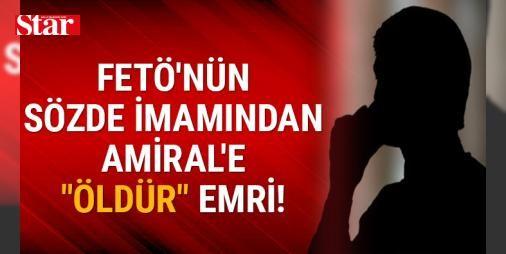 """Adil Öksüz'den """"Şeytanı içimize karıştırmayalım"""" telkini: İzmir'de, Fetullahçı Terör Örgütü'nün (FETÖ) darbe girişimine ilişkin soruşturma kapsamında, gizli tanık """"Kuzgun"""" olarak ifade veren ve mahkemede kimliğini açıklayan tutuklu sanık eski Amfibi Deniz Piyade Tugay Komutanı Tuğamiral Halil İbrahim Yıldız, örgütün sözde imamlarından """"İhsan""""ın 15 Temmuz gecesi kendisini arayarak, """"Birliğini dışarı çıkart, ölmeden öldür"""" talimatı verdiğini öne sürdü."""