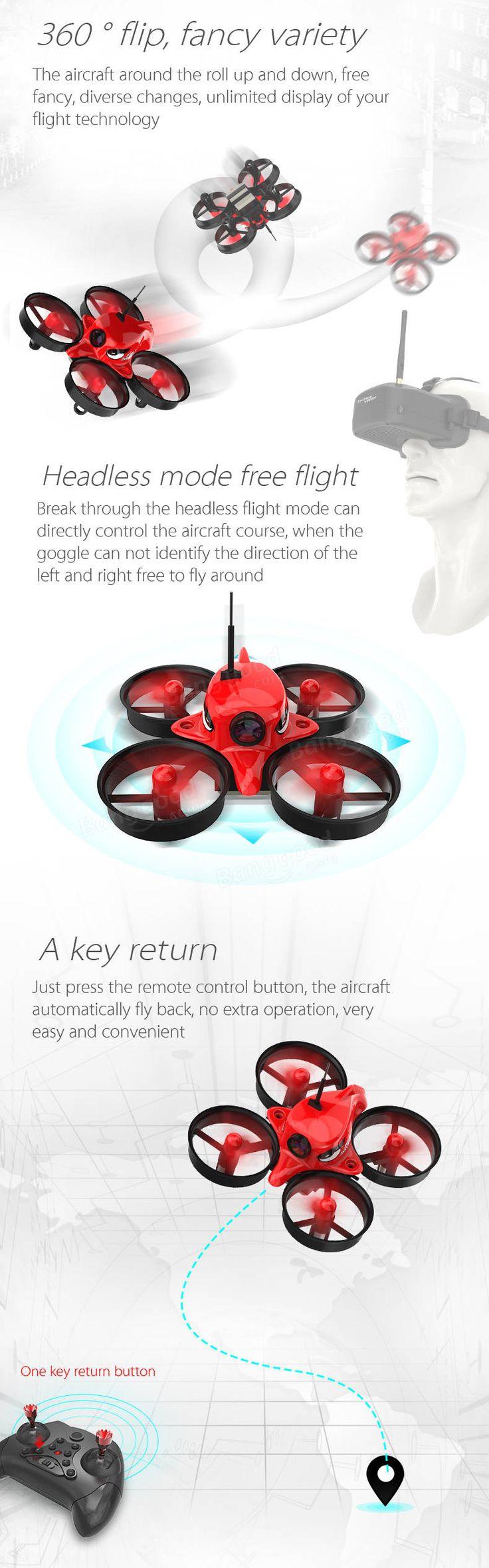 Eachine E013 Micro FPV Racing Quadcopter With 5.8G 1000TVL 40CH Camera VR006 VR-006 3 Inch Goggles