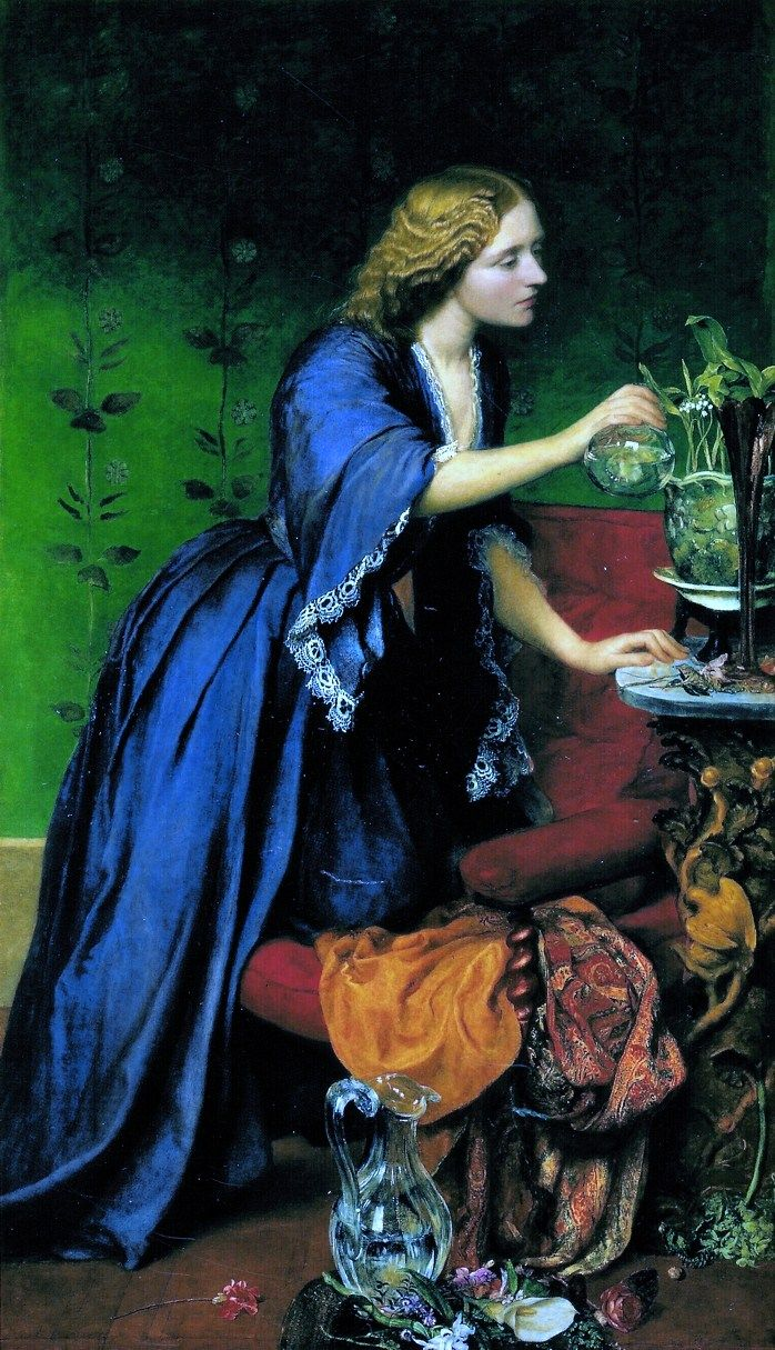 Jane Senior by George Frederic Watts (1817-1904) I AM IN LOVE WITH THIS. THE COLOR, FORM, ALL OF IT!