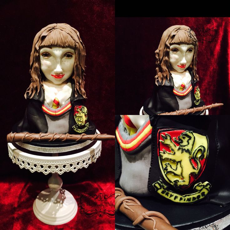 Hogwarts Girl Cake for Hogwarts Challenge Collab