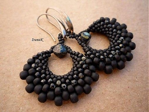 Black Bag by IrenaK - SAShE.sk - Handmade Earrings