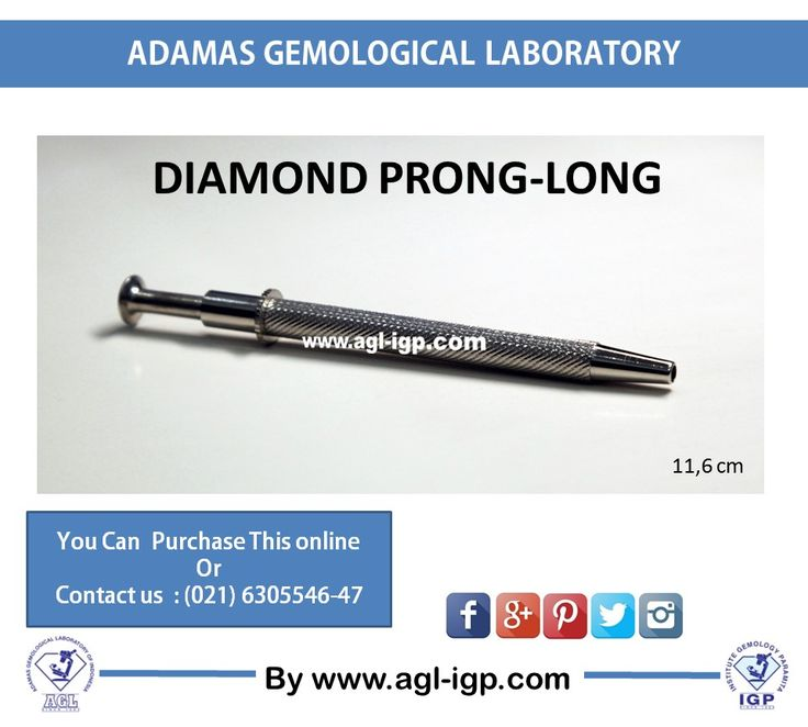Diamond Prong is very useful and handy to grip the diamond or gemstone. It`s have four prong which can pinch the diamond or gemstone well. So you don`t get worry about your diamond or gemstone to get off.