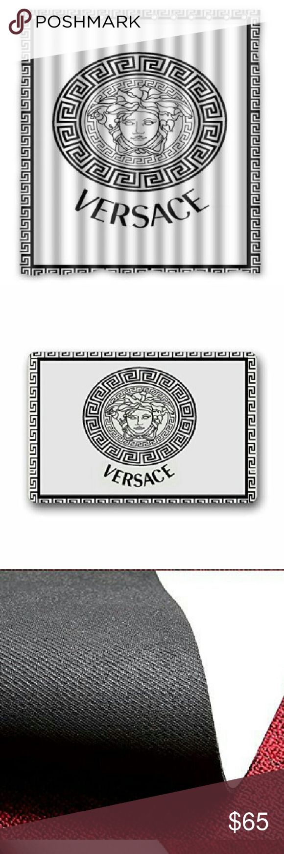 """**Bundle**Fashion Shower Curtain & Fashion Mat Gorgeous retro Versace Shower Curtain Shower 100% WaterProof Polyester Fabric 66"""" x 72"""" Inches & Custom retro Versace Machine Washable Top Fabric Non-slip Rubber Bathroom Doormat Size 23.6x15.7 Other"""