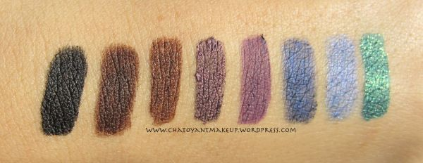 NYC eyeliner swatch all1