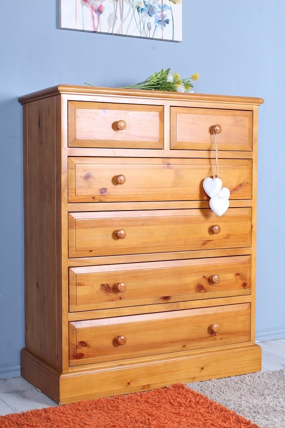 159 Large Pine Chest Of Drawers 6 Drawers In Total Clean And Presentable Inside And Out Uk Wide Delivery Serrvice A In 2020 Pine Furniture Furniture Pine Chests