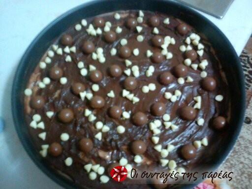 Τσιζκέικ σοκολάτας του Άκη Πετρετζίκη #sintagespareas