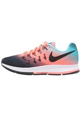 Köp Nike Performance AIR ZOOM PEGASUS 33 - Neutrala löparskor - black/white/lava glow/polarized blue/anthracite för 1195,00 kr (2017-03-02) fraktfritt på Zalando.se