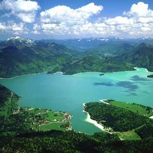 Walchensee in Bavaria