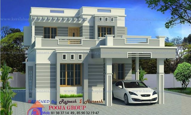 Modern Concept Home Design 1600 Sq Ft Small Contemporary House Plans 1600 Sf 3 Bedroom Modern Home Conte Contemporary House House Front Design House Styles