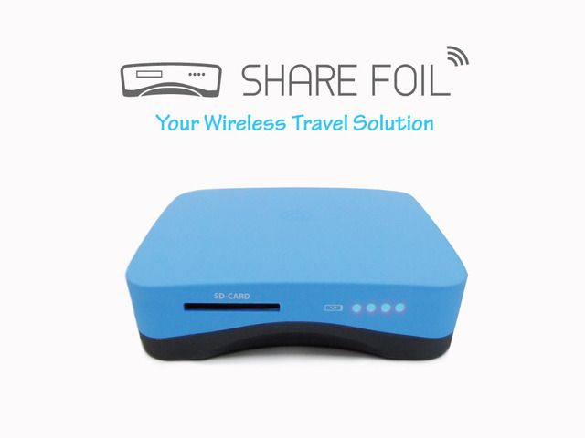 Share Foil Your Wireless Travel Solution By Trend Power