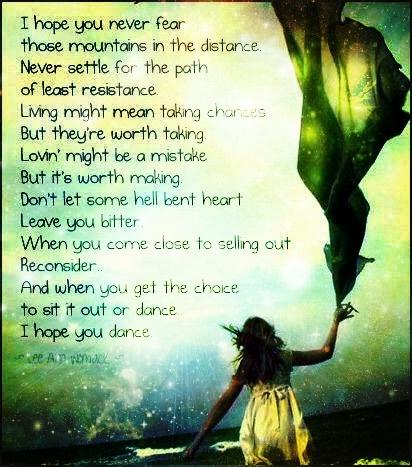 Martina McBride lyrics.  <3 this song!