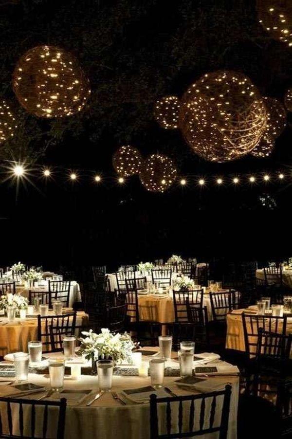 Best 25+ Backyard wedding lighting ideas on Pinterest | Outdoor ...