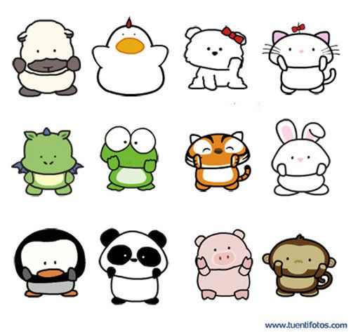 Animales de Doce Animalitos