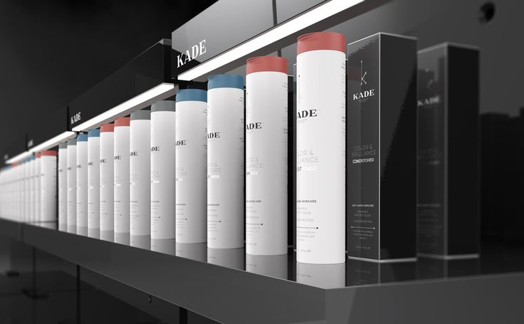 KADE PROFESSIONAL Hair Product Line Timeless Packaging — The Dieline | Packaging & Branding Design & Innovation News