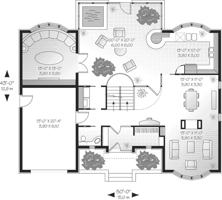 10 images about unique floor plans on pinterest luxury for House plans and more com home plans