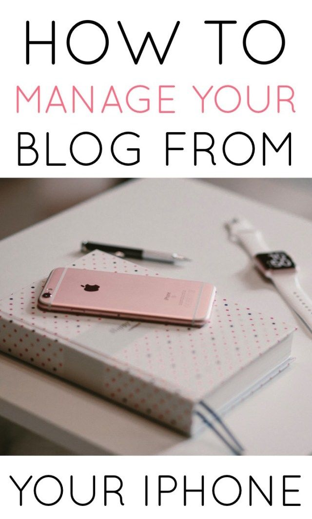 This post may contain affiliate links. I'm away from my laptop the majority of the time, so running a blog seemed really difficult in the…