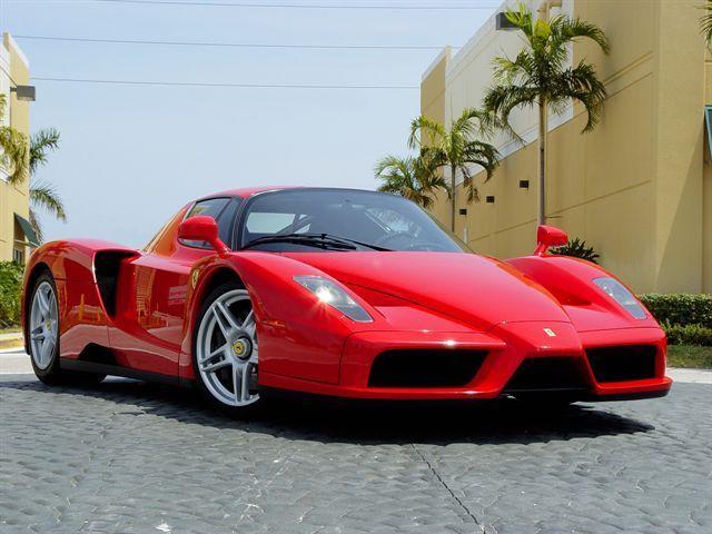 Enzo Ferrari is a car i want. I like British produced cars.