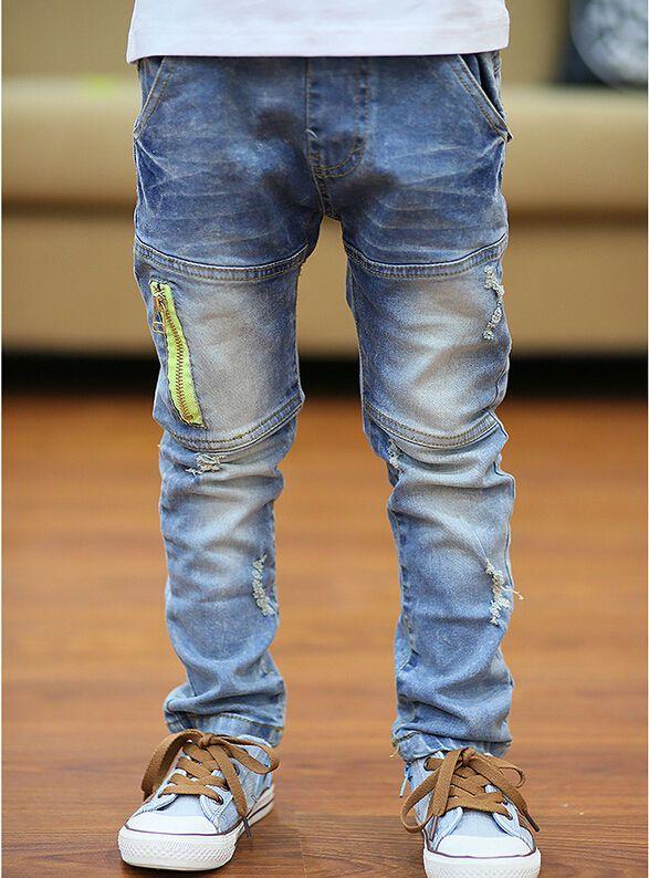 High Quality New Children Jeans Boy S Trousers Korean Version Kids