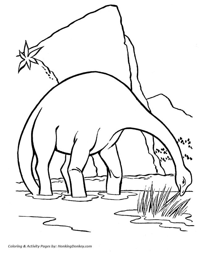 Free Coloring Pictures Of Dinosaurs : 12 best free coloring pages for kids images on pinterest