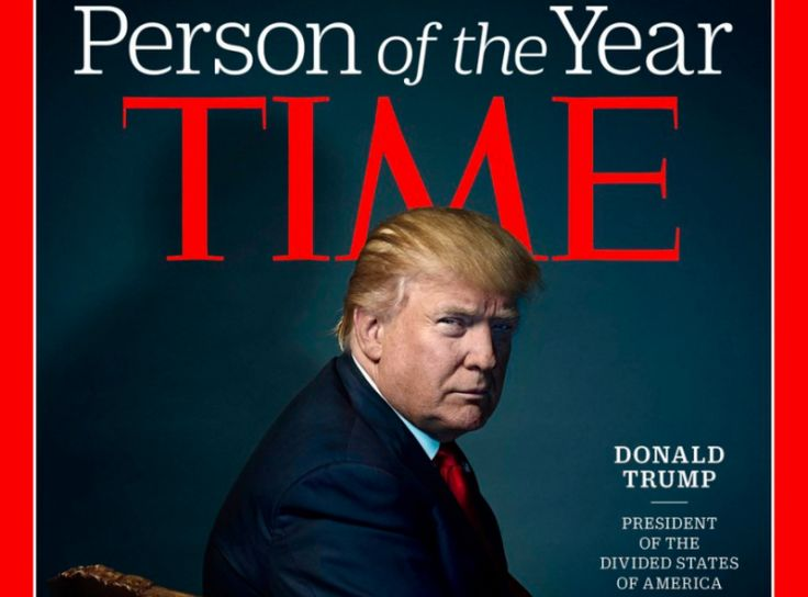President-elect Donald Trump took a victory lap on Wednesday after receiving an award that he has coveted for at least a year: Time magazine's Person of the Year.