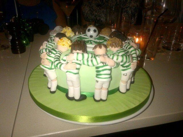 Celtic FC birthday cake