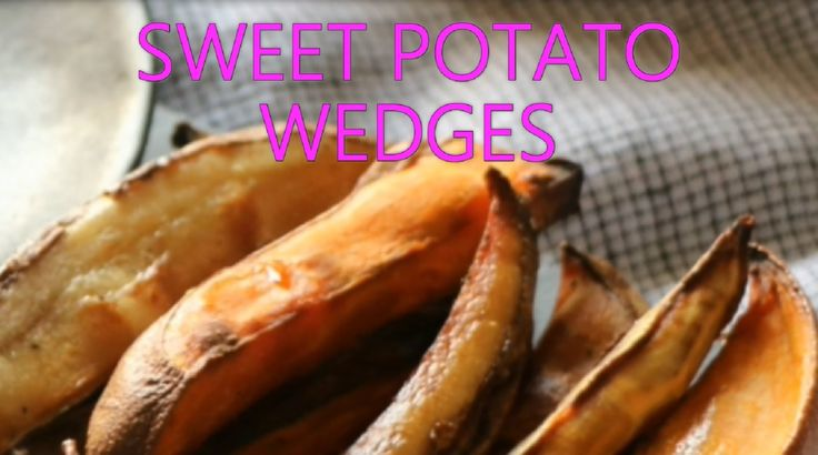 Sweet Potato WedgesThese baked Sweet Potato Wedges are Low-Fat, Healthy and Yummy ! The Sweet Potatoes add a different flavor, lots of colour and are loaded with nutrients - especially Vitamin A. Alternatively mix in Potatoes as well for a variety of tastes. These Wedges are great as dippers with your favourite dip. Or serve them as a side dish for your meal. Give up the deep-fried variety – baked Sweet Potato Wedges are the way forward !