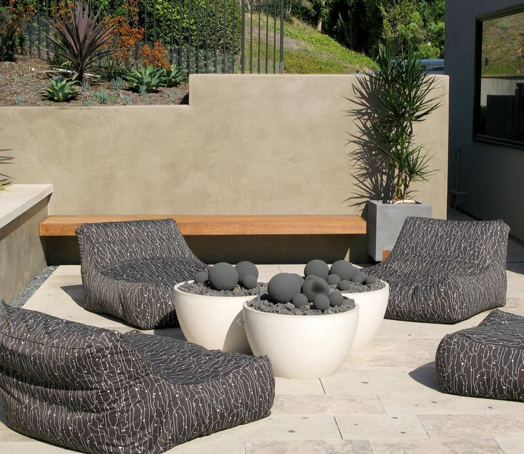 Tranquil Retreat   Private Residence, Del Mar , CA   Contemporary   Patio    San