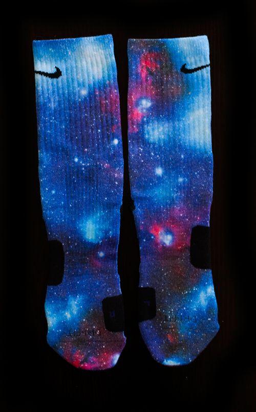 Nike Elite Socks All Colors | Nike Elite Socks - Thesockgame.com — Superman Galaxies Custom Nike ...
