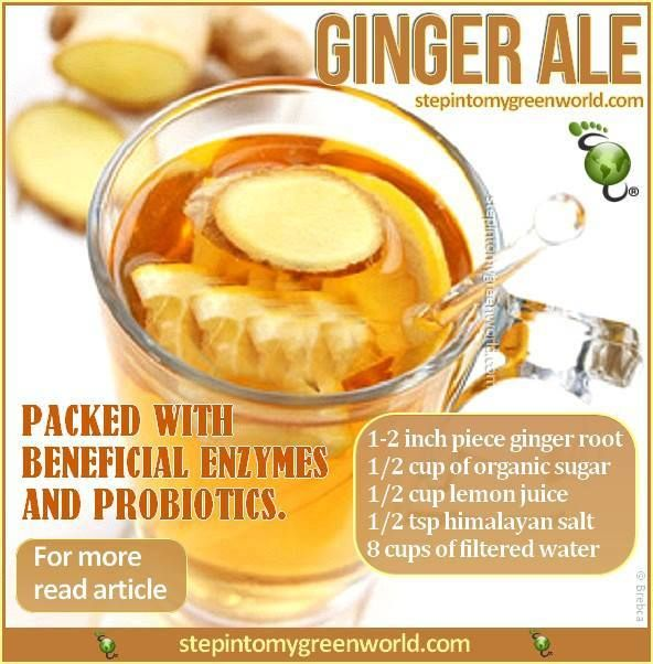 Health Benefits Of Natural Ginger Ale
