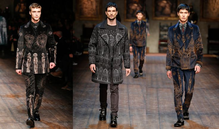 mens winter fashion 2015 | style fashion photo gallery relive the emotion of the dolce gabbana ...