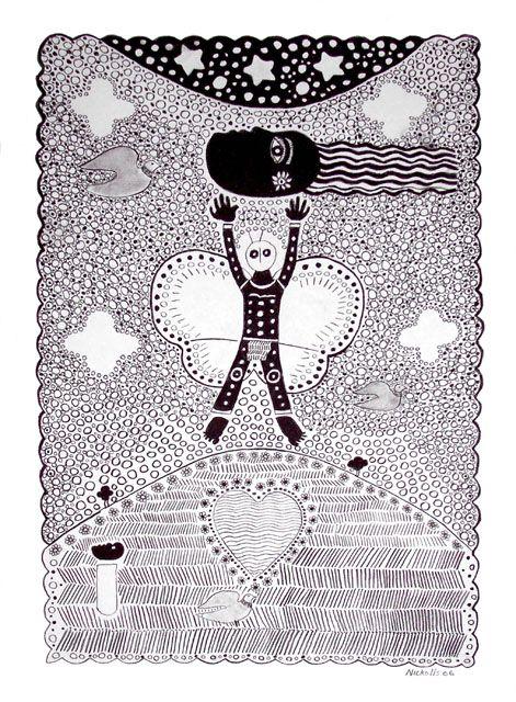 Trevor Nickolls Metamorphosis, 2006