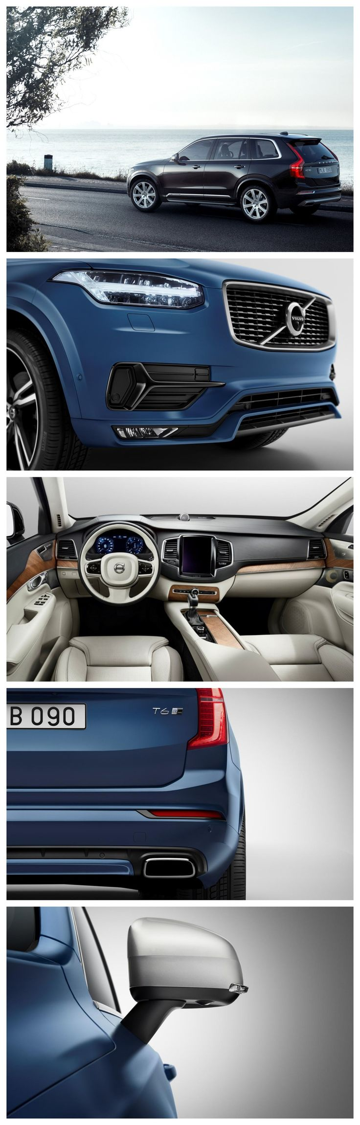 The May 12 has been finalized for the launch of this Volvo XC90 next generation with only diesel engine though.  #VolvoXC90