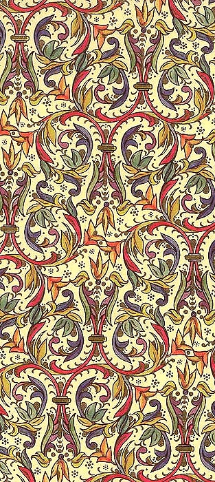 Gilded Florentine Christmas craft paper from Italy
