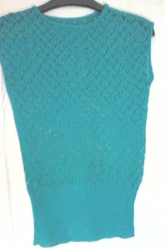 maglietta bimba cotone maglia turchese di maglieriamagica su Etsy, €32.50