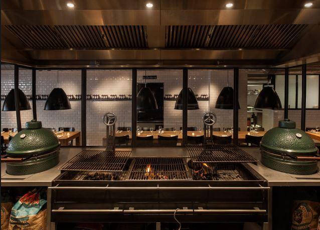 julius bar\grill    juliusbargrillnl  Cityguide - Amsterdam - küche mit grill