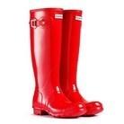 YES PLEASE! Hunter Original Gloss Boots Pillar Box Red