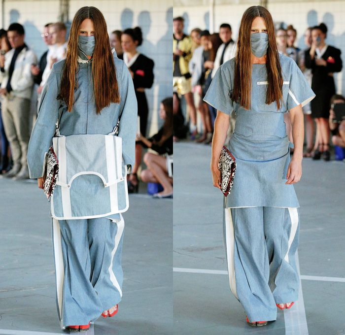 Wali Mohammed Barrech 2014 Spring Summer Runway Collection - Copenhagen Fashion Week Denmark: Designer Denim Jeans Fashion: Season Collections, Runways, Lookbooks and Linesheets