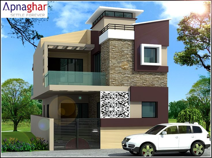 """Home interprets heaven. Home is heaven for beginners."" - Charles Henry Parkhurst  Find latest house designs at www.apnaghar.co.in"