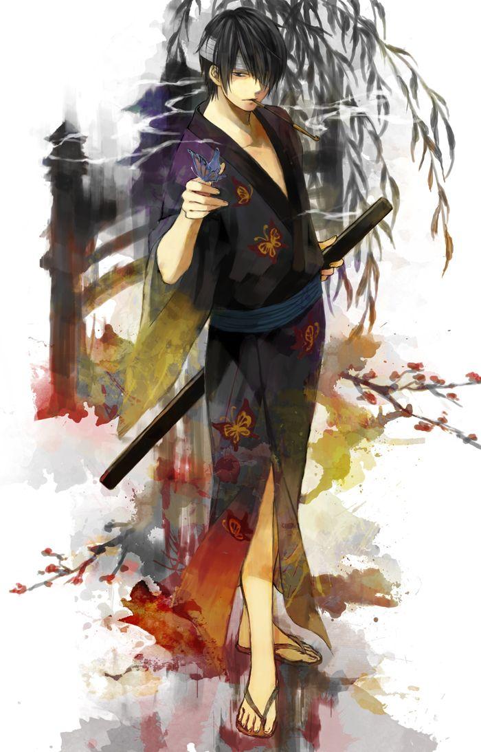 Takasugi Shinsuke. Gintama.