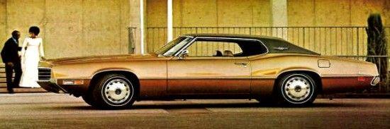 1971 Ford Thunderbird 2-Door Hardtop