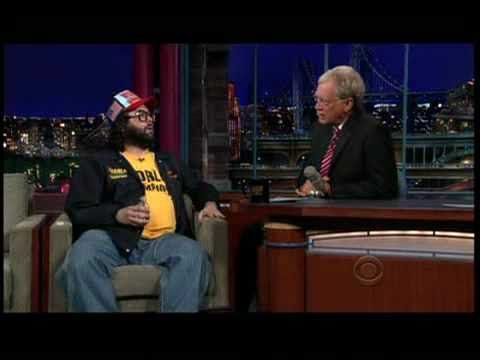 The World Champion Judah Friedlander on the Late Show 6/9/2009