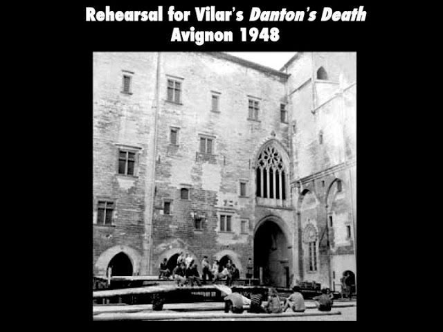 Jean Vilar's Danton's Death, Avignon, 1948