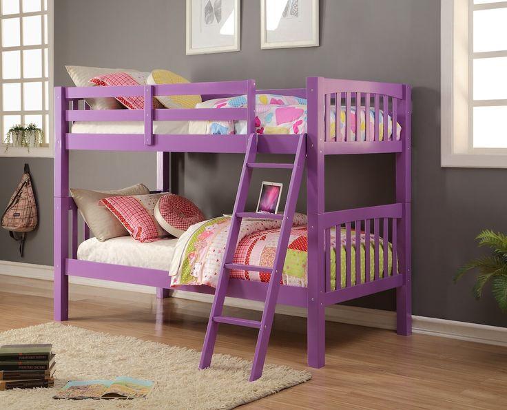 7 Nice Triple Bunk Beds Ideas For Your Children S Bedroom: Best 25+ Purple Kids Rooms Ideas On Pinterest