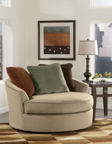 Oversized Round Swivel Chair: I So Want This Chair...perfect For Reading
