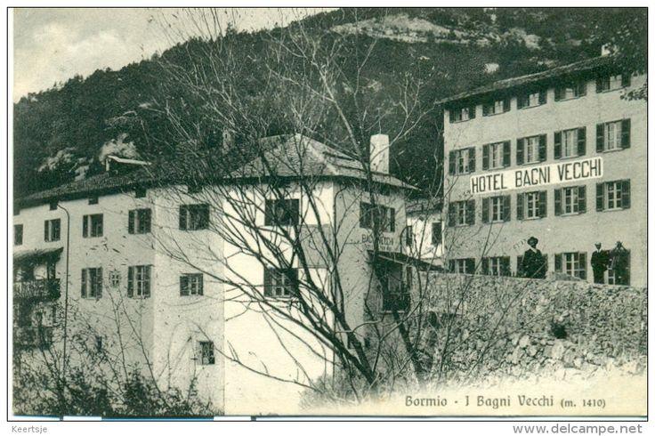 1587 best italia in cartolina images on pinterest card - Hotel bagni vecchi a bormio ...