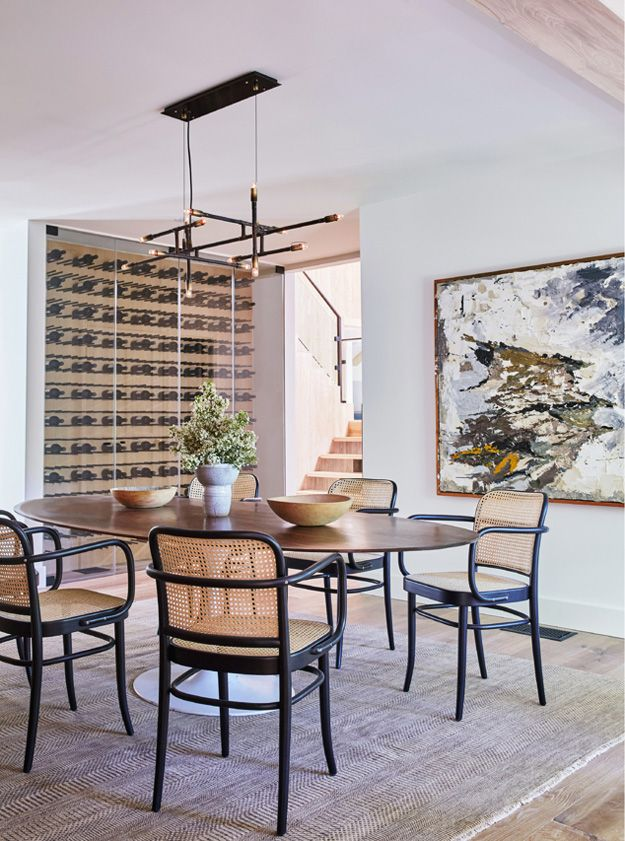 Modern farmhouse design dining room inspiration