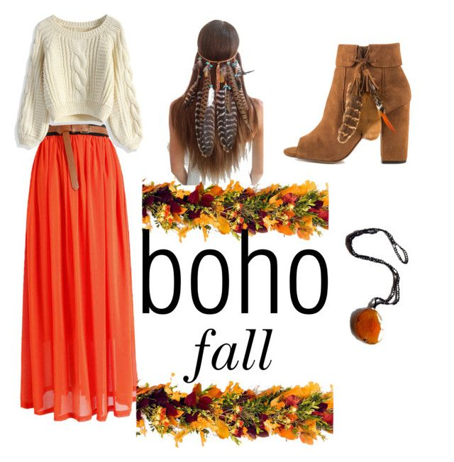 """""""Fall Boho"""" by ar-tyler on Polyvore featuring Frontgate, Jessica Simpson and Chicwish"""