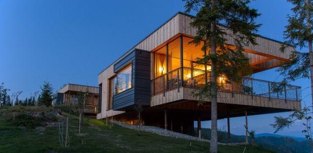 Deluxe Mountain Chalets par Viereck Architects - Styria, Autriche ...