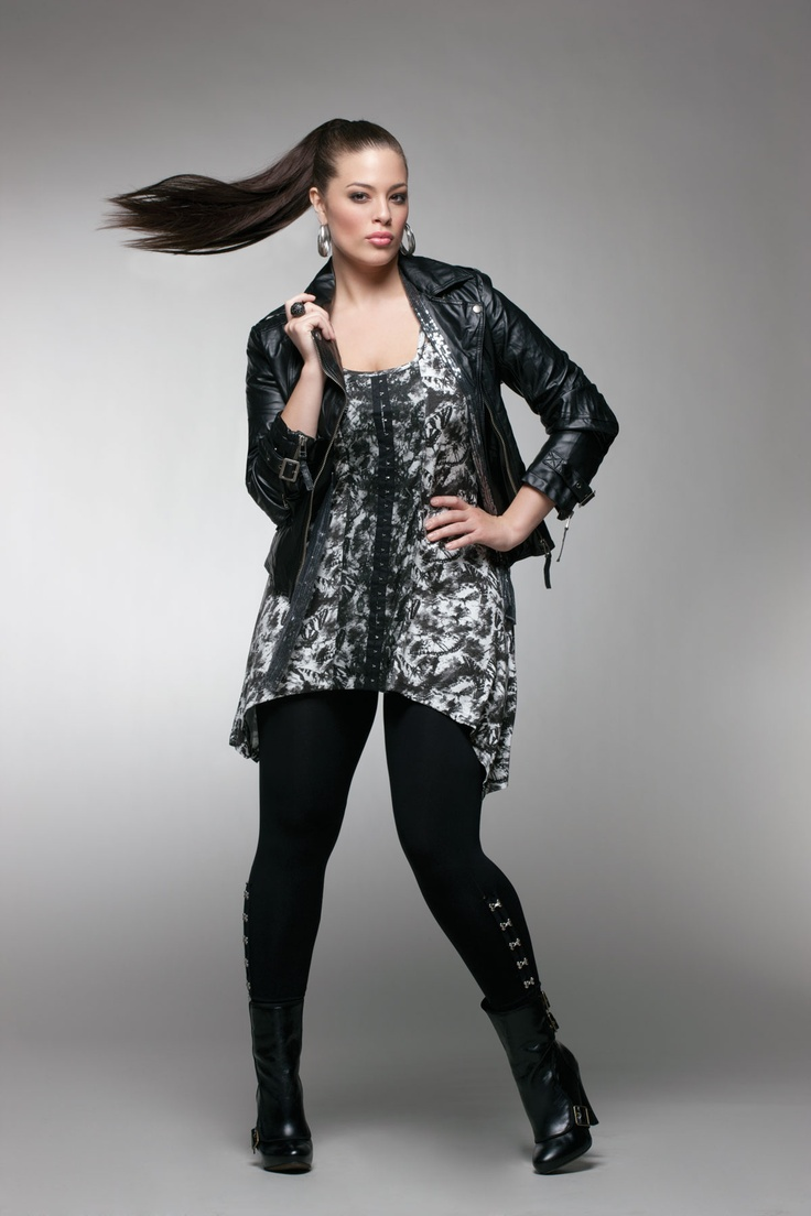 Ashley Graham in Addition Elle Fall 2011 Look Book #additionelle #ashleygraham #lookbook #lingerie