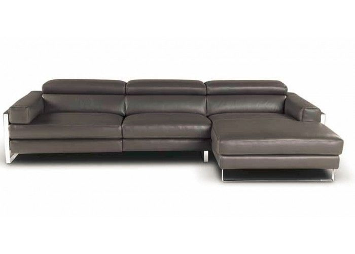 Romeo Leather Sectional reclining